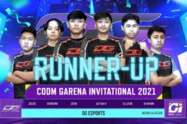 Indonesia runner up CODM Garena Invitational 2021