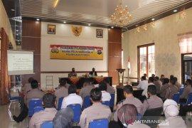 Seluruh Kapolsek di wilayah Polres Bukittinggi ikuti pelatihan prima