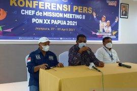 NTT absen CdM Meeting II PON XX Papua 2021