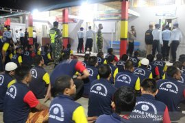 Razia tim gabungan BNNK Pasaman Barat di Lapas Talu, ini yang ditemukan