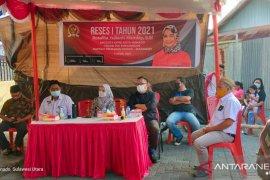 Legislator Rosalita Manday Serap Aspirasi di Wawonasa Dihadiri Wawali Terpilih Richard Sualang