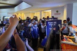 Gubernur Papua Lukas Enembe hadiri pembukaan CdM Meeting II PON XX