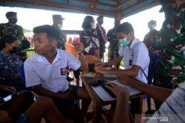 Danlantamal VIII Manado Tinjau Potensi Maritim Desa Budo