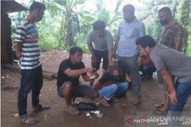 Dua orang terduga  pengedar sabu dan ganja di Lembah Melintang, ditangkap polisi