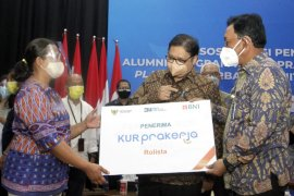 BNI mendukung alumni Program Kartu Prakerja jadi wirausaha via KUR