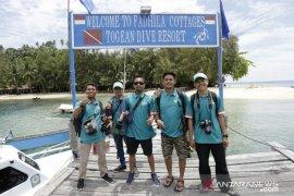 BTNKT:  Jumlah kunjungan di Togean tiga bulan terakhir 132 wisatawan