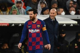 Zidane berharap El Clasico kali ini bukan yang terakhir  bagi Messi
