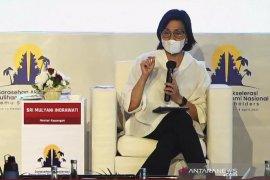 Menkeu Sri Mulyani tekankan pemulihan global harus seimbang di seluruh negara