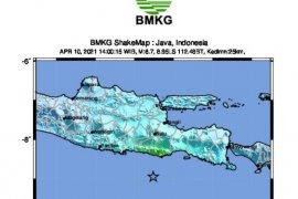 Gempa bumi Malang juga dirasakan warga Bantul