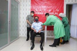 Sultan HB X terima suntik vaksin COVID-19 dosis kedua