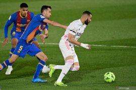 Liga Spanyol - Real Madrid kalahkan Barcelona 2-1 dalam laga  El Clasico