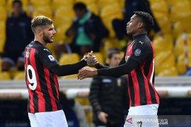 AC Milan tundukkan Parma 3-1 walau hanya dengan 10 pemain