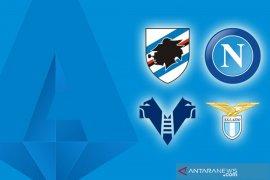 Napoli dan Lazio petik kemenangan di kandang lawan