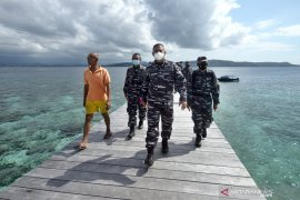 Danlantamal VIII Manado tinjau kandidat Kampung Bahari Nusantara
