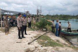 """Polisi tutup penambangan timah \""""liar\"""" di tiga kawasan Bangka Tengah"""