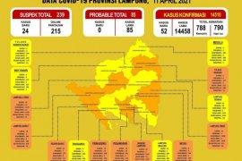 Kemarin Dinkes catat pasien COVID-19 di Lampung bertambah jadi 14.510