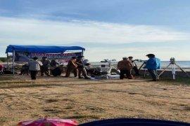 Hilal awal Ramadhan teramati  di wilayah Indonesia