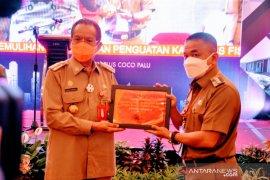 Palu dapat penghargaan perencanaan kota terbaik dari Gubernur Sulteng