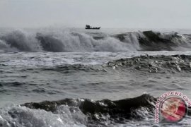 BMKG minta masyarakat mewaspadai gelombang tinggi di laut selatan DIY