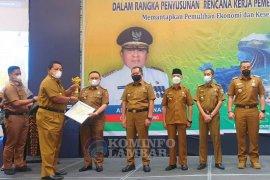 Pemkab Lampung Barat raih Terbaik I pencapaian pembangunan daerah