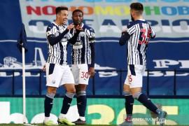 West Brom raih kemenangan beruntun pertama setelah cukur Southampton