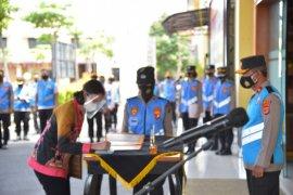 Wakapolda Lampung pimpin penandatanganan pakta integritas penerimaan anggota Polri
