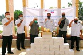 Bantuan tahap III, PT CPI-SKK Migas distribusikan 4.750 paket sembako di 19 titik