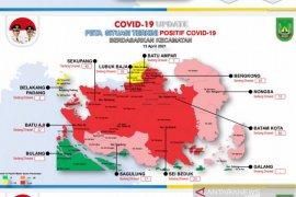 Kasus penularan COVID-19 di Batam kembali melonjak