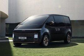 Hyundai perkenalkan kendaraan minivan terbaru bernama Staria