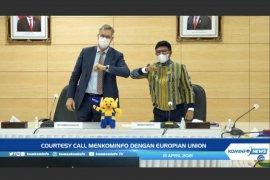 Kominfo bahas kerjasama teknologi 5G dengan Uni Eropa