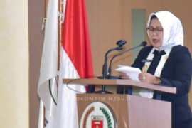 Wakil Bupati Mesuji sampaikan LKPJ Bupati Mesuji tahun 2020