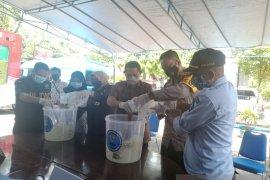 BNNP Kaltara Musnahkan Dua Kilogram Sabu Jaringan Lapas