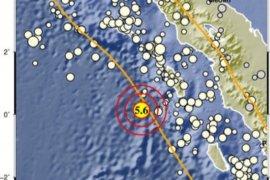 Nias Barat diguncang gempa tektonik magnitudo 5,5