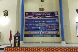 Ditlantas Polda Lampung imbau warga tak mudik