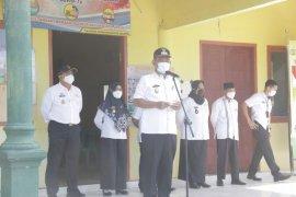 Wakil Bupati Pringsewu pimpin apel aparatur Pekon Tritunggal Mulya
