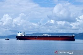 Kapal tanker raksasa pengangkut minyak Pertamina tiba di Tanah Air