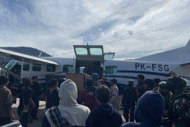 Jenazah korban penembakan KKB di Puncak Papua akan dibawa ke Makassar