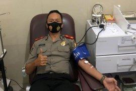 Peserta didik Sespimmen Lemdiklat Polri donorkan darah