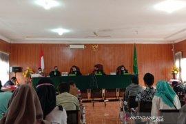 Mantan anggota DPRD Palembang Doni dan empat bandar narkoba divonis mati
