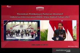 Jokowi resmi buka gelaran IIMS Hybrid 2021
