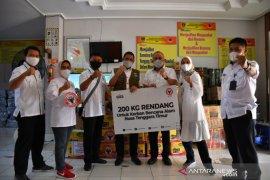 Semen Padang kirim 200 kilogram rendang untuk korban bencana alam NTT
