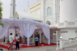 Masjid Alhakim Padang Sediakan Buka Gratis Selama Ramadan