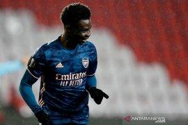 Bukayo Saka pede Arsenal bisa mencapai final Liga Europa