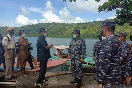 Wakasal tinjau pembangunan Pangkalan TNI AL di Kabupaten  Sangihe