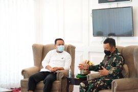 Pangdam XIV/Hasanuddin dukung program pembukaan jalan Pemprov Sulsel