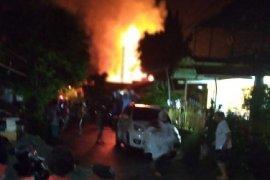 Kebakaran di kawasan Perumnas I Waena Jayapura hanguskan delapan rumah