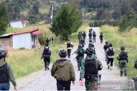 Satgas Nemangkawi TNI/Polri berhasil mengendalikan situasi Beoga Puncak