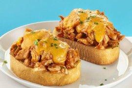 Resep berbuka puasa: peanut butter BBQ chicken melt