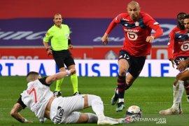 Liga Prancis - Lille gagal perkokoh posisi puncak seusai seri kontra Montpellier