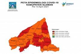 Dinkes: Enam kecamatan di Sleman masih zona merah COVID-19